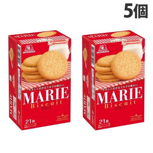 森永製菓 ビスケット マリー 21枚 5個