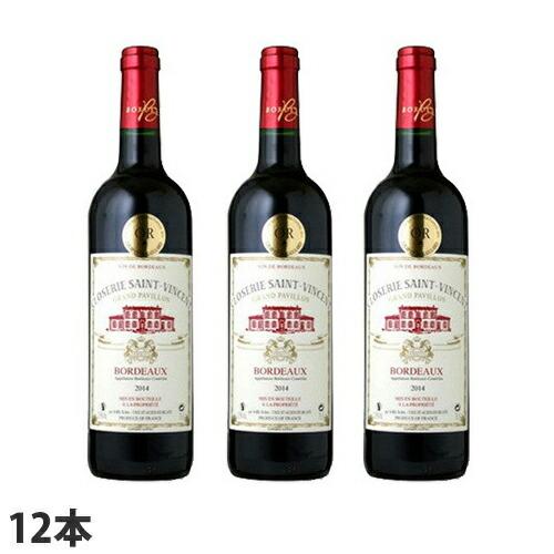 赤ワイン クロズリー・サン・ヴァンサン 750ml 12本