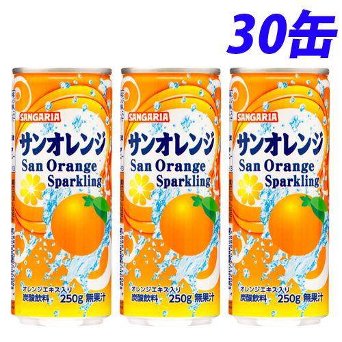 サンガリア サンオレンジ 250g 30缶