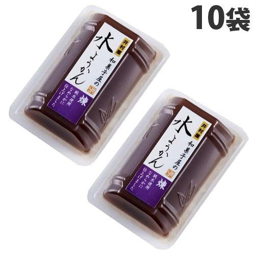 井村屋 和菓子屋の水ようかん 煉 83g×10袋