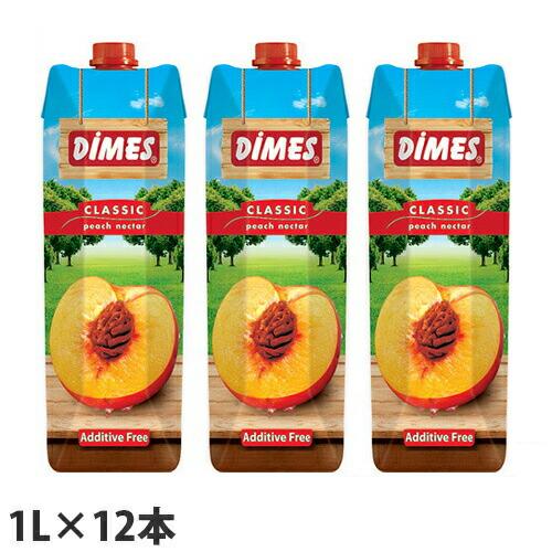 ディメス ピーチネクター 果汁50% 1L 12本