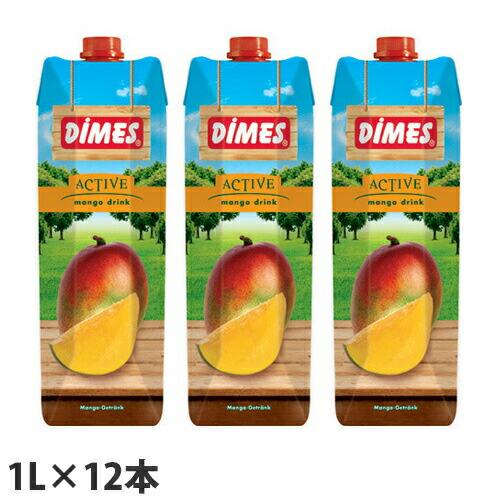 ディメス マンゴードリンク 果汁15% 1L 12本