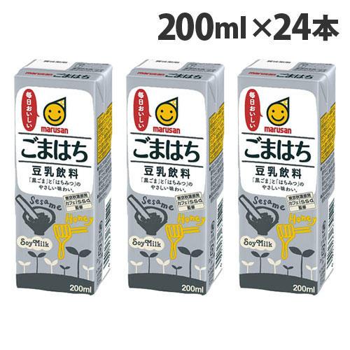 マルサンアイ 豆乳飲料 ごまはち 200ml 24本