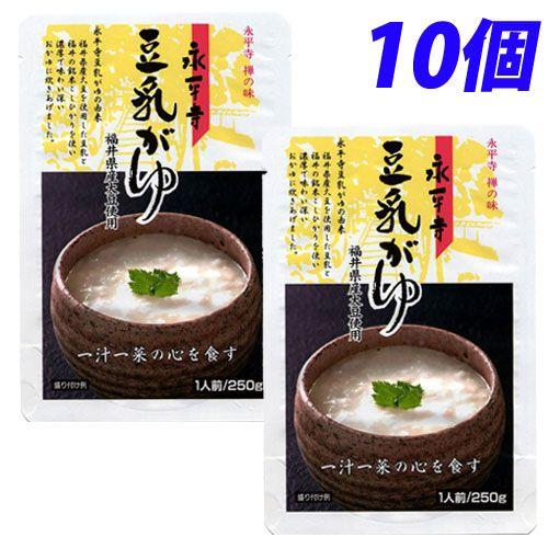 米又 永平寺 豆乳がゆ 250g 10個