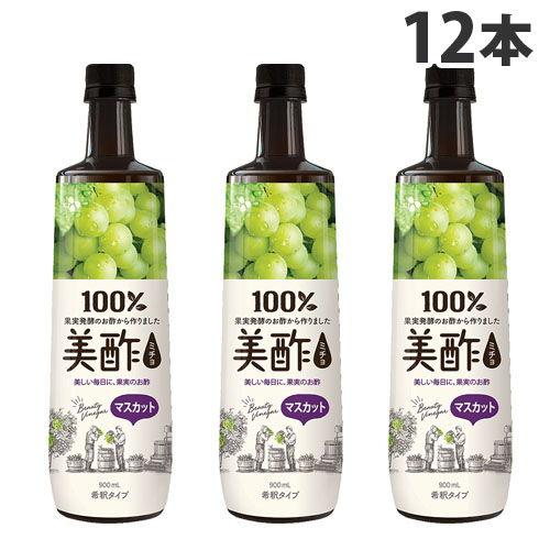 CJジャパン お酢 美酢 マスカット味 900ml 12本