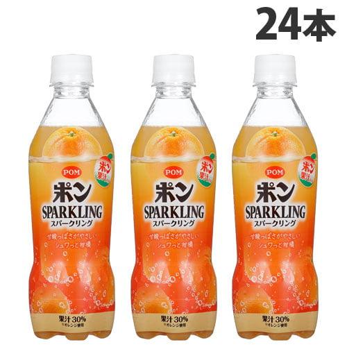 えひめ飲料 POM スパークリング 410ml 24本