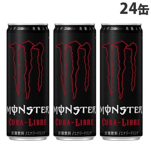 アサヒ飲料 モンスター キューバリブレ 355ml×24缶