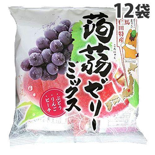 下仁田物産 蒟蒻ゼリーミックス 15個×12袋