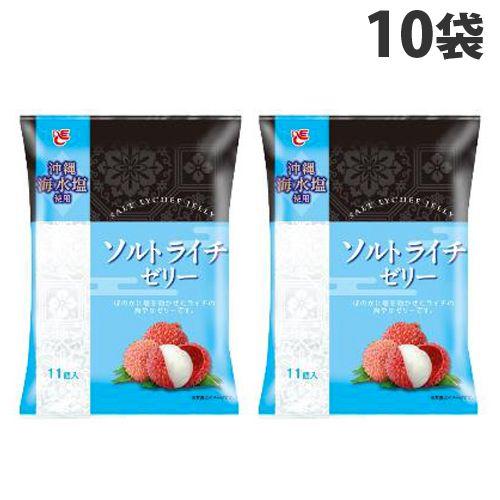 エースベーカリー ソルトライチゼリー 11個×10袋