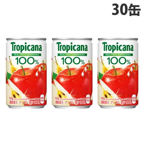 キリン トロピカーナ100% アップル 160g×30缶