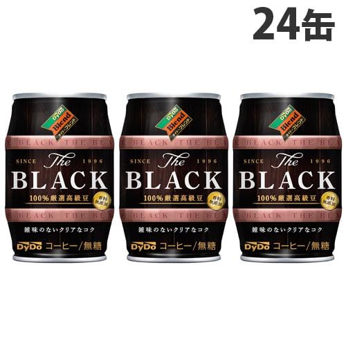 ダイドー ザ・ブラック 185g×24缶