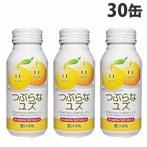 【送料無料】JAフーズ大分 つぶらなユズ 190g×30缶【他商品と同時購入不可】