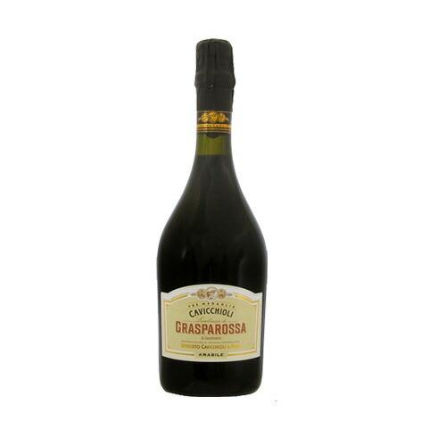 赤ワイン カビッキオーリ ランブルスコ ロッソ グラスパロッサ アマービレ