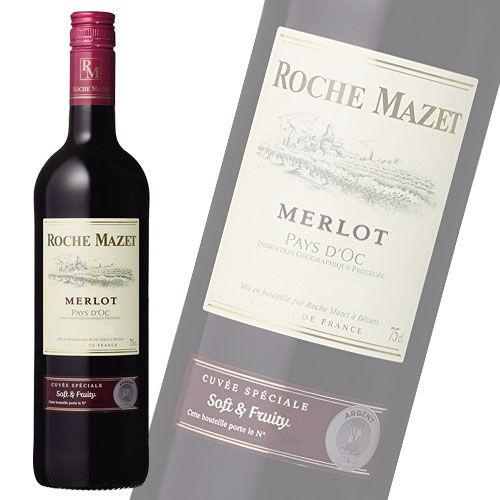 KK 赤ワイン ロシュマゼ メルロー 750ml