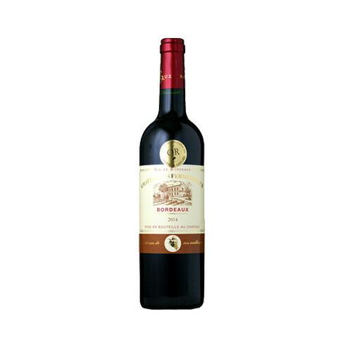赤ワイン シャトー・レ・フェルメントー 750ml