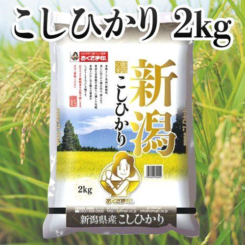 幸南食糧 おくさま印 新潟県産こしひかり 2kg