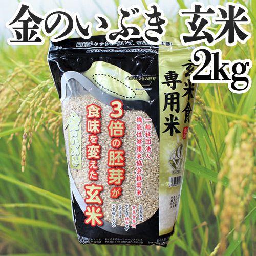 幸南食糧 おくさま印 宮城県産金のいぶき 玄米 2kg