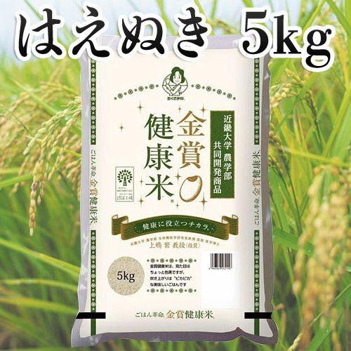 幸南食糧 おくさま印 金賞健康米 山形県はえぬき 5kg