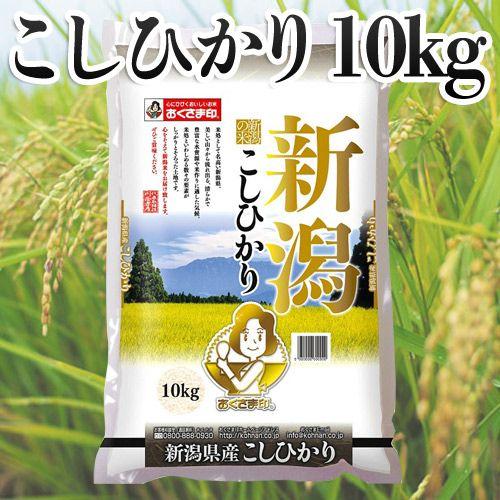 おくさま印 新潟県産こしひかり 10kg