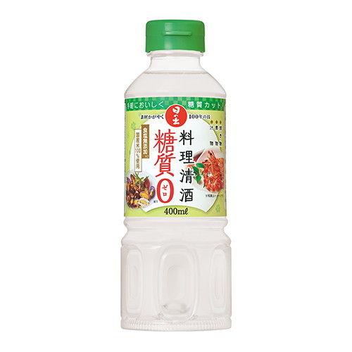 キング醸造 日の出 料理清酒 糖質ゼロ 400ml