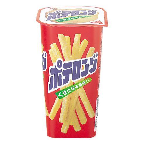 森永製菓 ポテロング しお味 45g