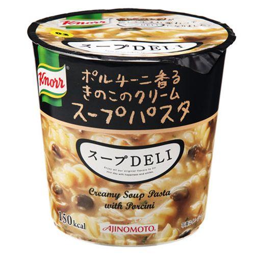 味の素 クノール スープDELI ポルチーニ香るきのこクリーム スープパスタ 40.7g