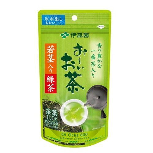 伊藤園 おーいお茶 若茎入り緑茶 100g
