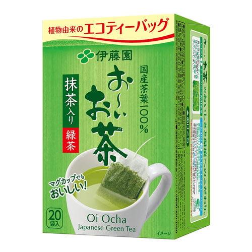 伊藤園 おーいお茶 ティーバッグ 抹茶入り緑茶 22袋入