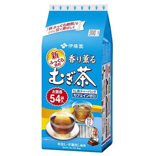 伊藤園 香り薫るむぎ茶 ティーバッグ 54パック