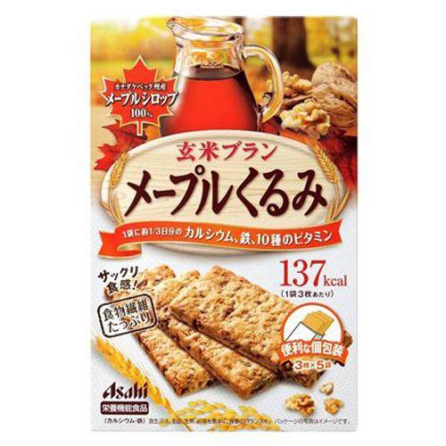 アサヒ飲料 玄米ブラン メープルくるみ 150g