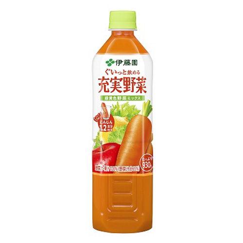 伊藤園 野菜ジュース  ぐいっと飲める充実野菜 緑黄色野菜ミックス 930g