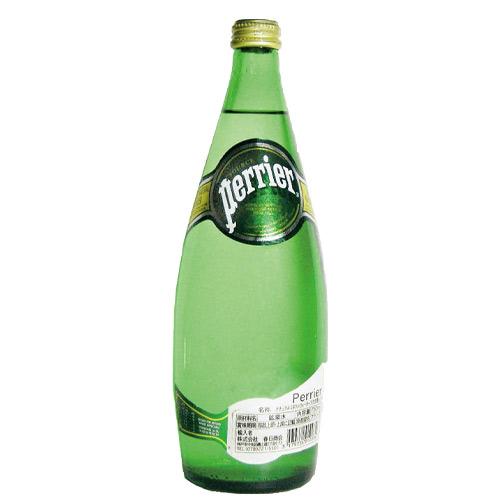 炭酸水 ペリエ プレーン スパークリング・ナチュラルミネラルウォーター 瓶 750ml