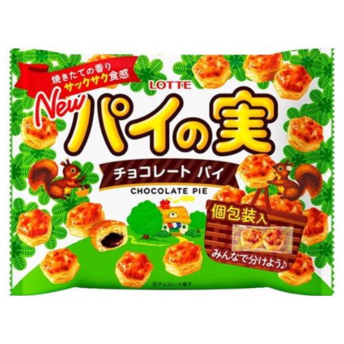 ロッテ パイの実 チョコレートパイ シェアパック 133g
