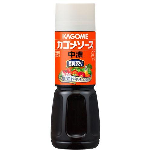 カゴメ 醸熟ソース 中濃 500ml