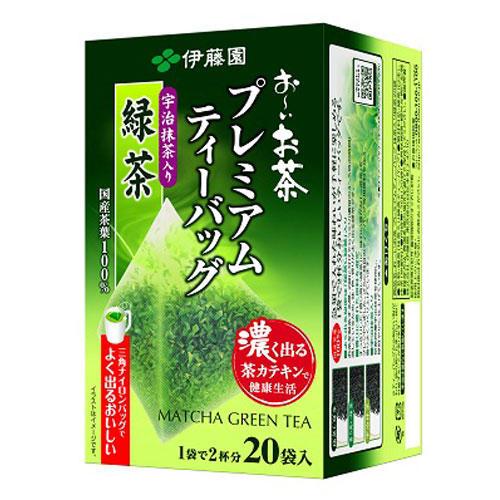 伊藤園 プレミアムティーバッグ 緑茶 20P