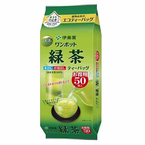 伊藤園 ワンポット緑茶 50P