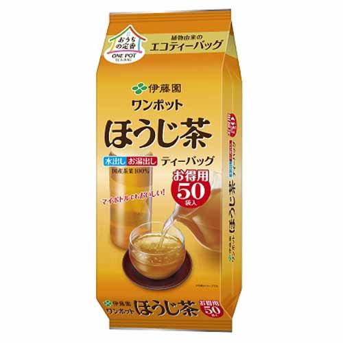 伊藤園 ワンポットほうじ茶 50P