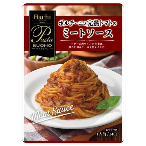 ハチ食品 ポルチーニと完熟トマトのミートソース 140g