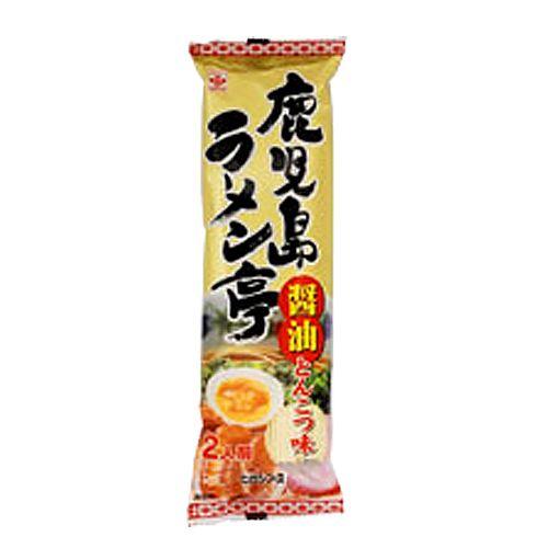 ヒガシマル 鹿児島ラーメン亭 醤油とんこつ味 2食 159g