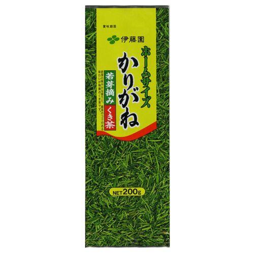 伊藤園 茶葉 ホームサイズ かりがね 200g