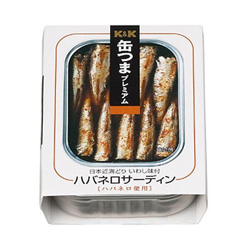 K&K 缶つまプレミアム ハバネロサーディンEO缶 105g