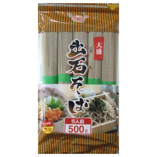 田靡製麺 大盛出石そば(チャック付) 500g