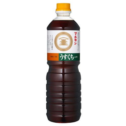 盛田 醤油 マルキン うすくち 1L