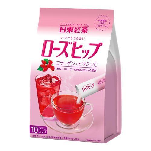 日東紅茶 うるおいローズヒップ 11g 10袋