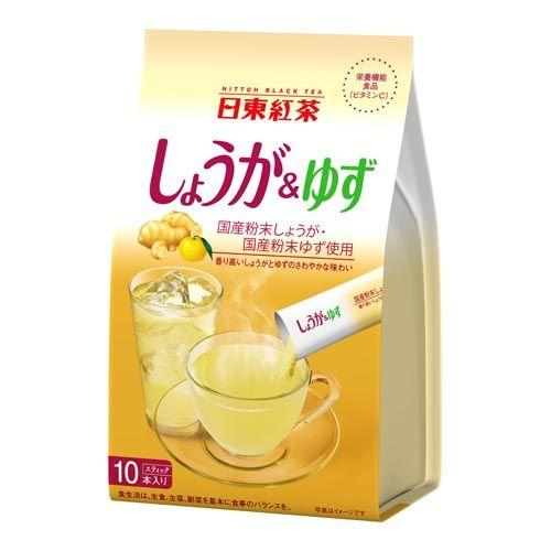 日東紅茶 しょうが&ゆず 10g 10袋