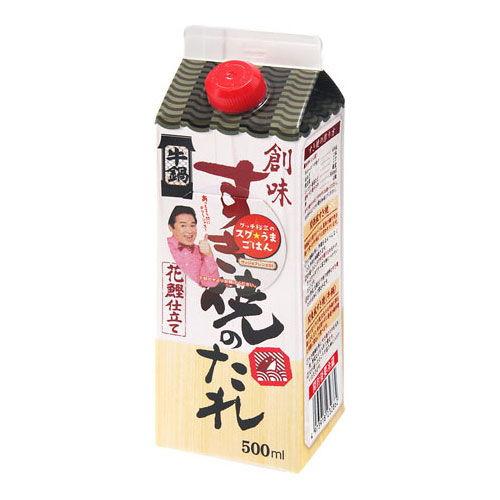 創味食品 すき焼きのたれ(化学調味料無添加) 500ml