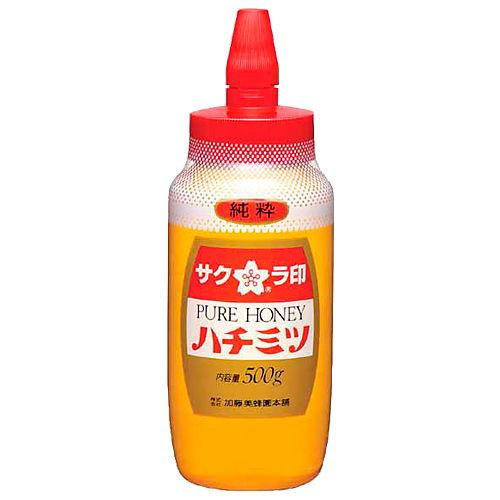 加糖美蜂園本舗 サクラ印 ブレンドはちみつ(ポリ容器) 500g