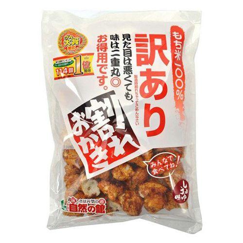 谷貝食品工業 訳あり 割れおかき 醤油味 250g