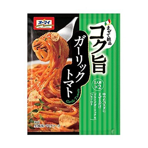日本製粉 オーマイ 生風味 コク旨ガーリックトマト 41.6g 2食入