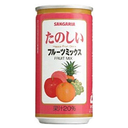 サンガリア たのしいフルーツミックス 190g